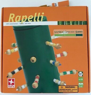 Hape Bamboo Collection - NEW Rapelli - Bamboo Collections Game by HaPe