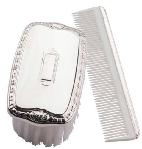 #2192 Boys Sterling Silver Brush & Comb Set by Empire -NIB