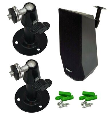 2x Soporte de pared para altavoz para SONY Sony BDV-E2100 BDV-E4100