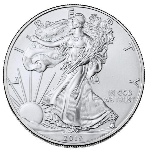 2019 1 oz American Silver Eagle $1 GEM BU SKU55748
