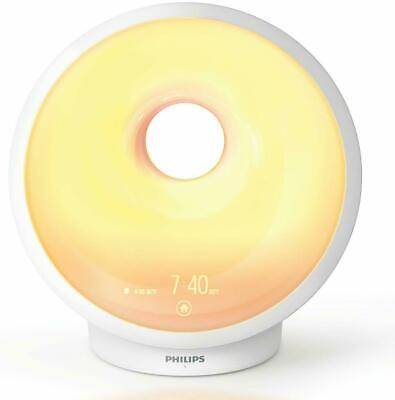 Philips Somneo Sleep Wake Up Light Therapy w/ Sunrise Alarm  HF3650
