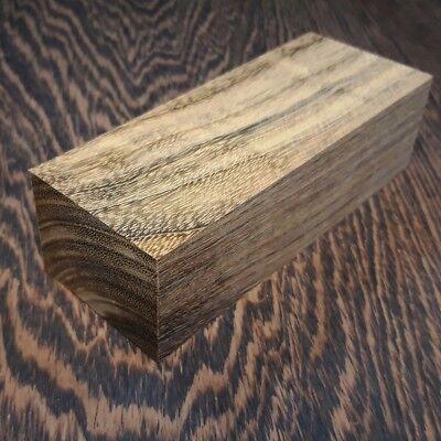 Block of Ovangkol Amazaque wood hard Knife Handle Making Blanks 35x50x125mm
