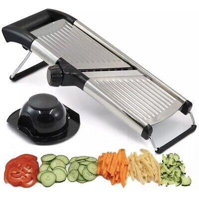 Adjustable Mandoline Slicer by Chef's INSPIRATIONS. Best For Slicing Food,