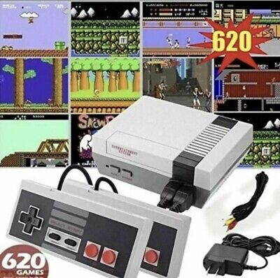 Mini Retro Game Anniversary Edition Console 620 Games Built In With Av Output