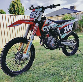 KTM 250SXF 2016 Cambridge Gardens Penrith Area Preview