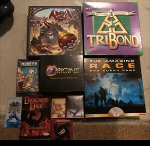 Board Games - Modern, party and family games