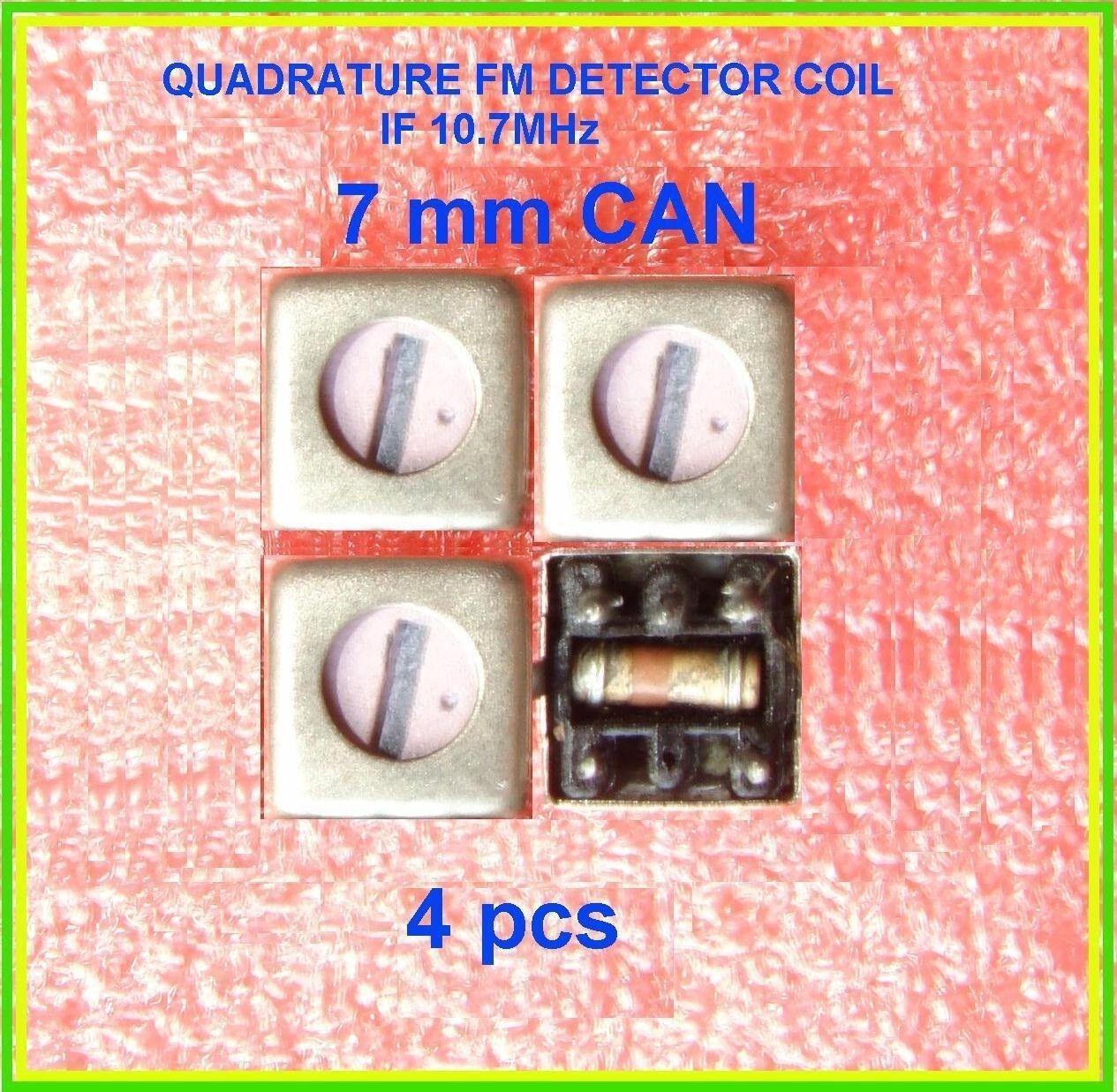 Details about Quadrature Coil 10 7 MHz Tuned Inductor 1 5uH 2 0uH LM3189  NE602 NJM14570 SA612