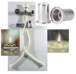 5 3/8 Stainless Thermal Tube Cotton Wick Holder W picture