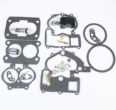 Mercruiser Marine 2 Bbl Carburetor Repair Kit Mercarb EtOH Resistant with Float