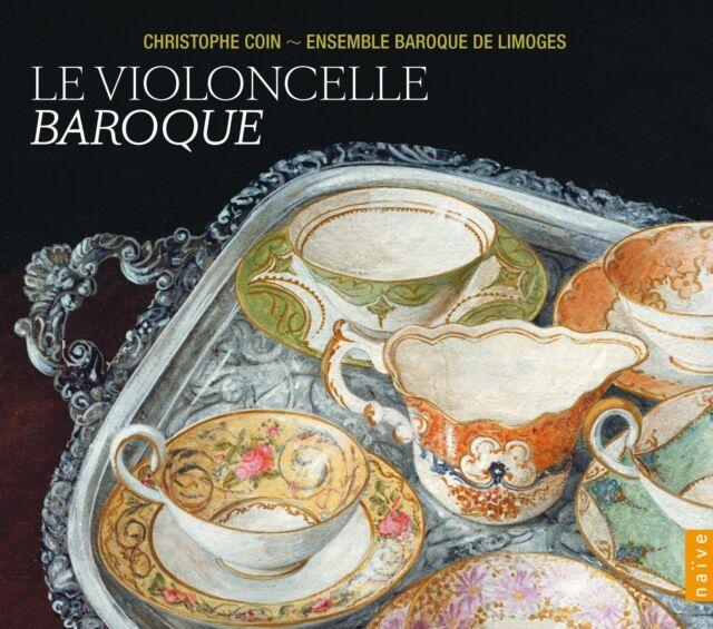 LE VIOLONCELLE BAROQUE-THE BAROQUE CELLO 4 CD NEU BACH,J.S./BOCCHERINI
