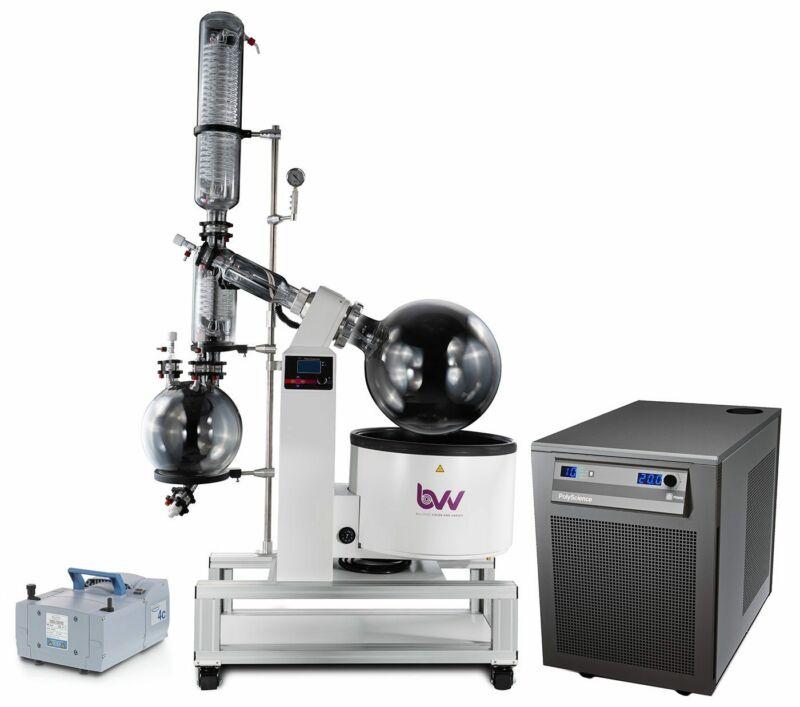 BVV 50L Neocision ETL Lab Certified Rotary Evaporator Turnkey System