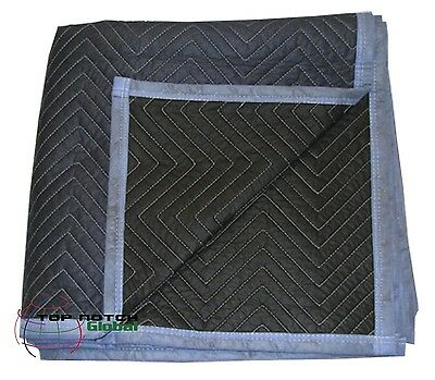12 Economy Value Warehouse Storage Pads - Furniture Moving Blanket - 35lbs Doz