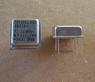Mfe Crystal Oscillators 77.76 Mhz 100 Pcs