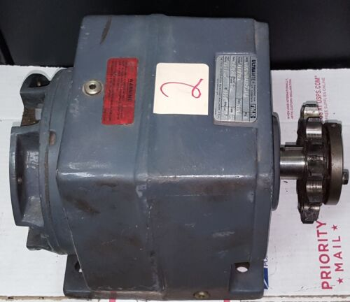 ULTRAMITE (FALK) 06UCBN2AA25.A1A Gearbox Speed Reducer, Ratio 25.25, M.F 56