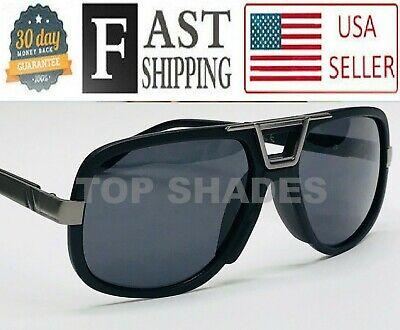 Men's Sunglasses Design Square Mach Gazelle Cholo Designer Gold Metal (Gazelle Sunglasses For Men)