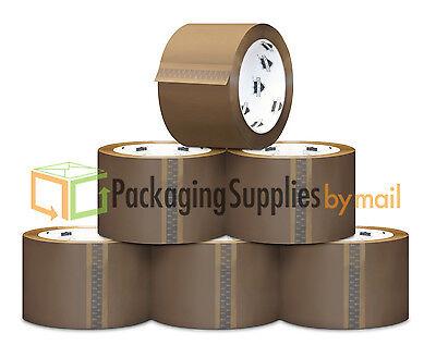 Tan Color 24 Jumbo Rolls 3 Inch Tan Tape 24 Rollscs 55 Yards
