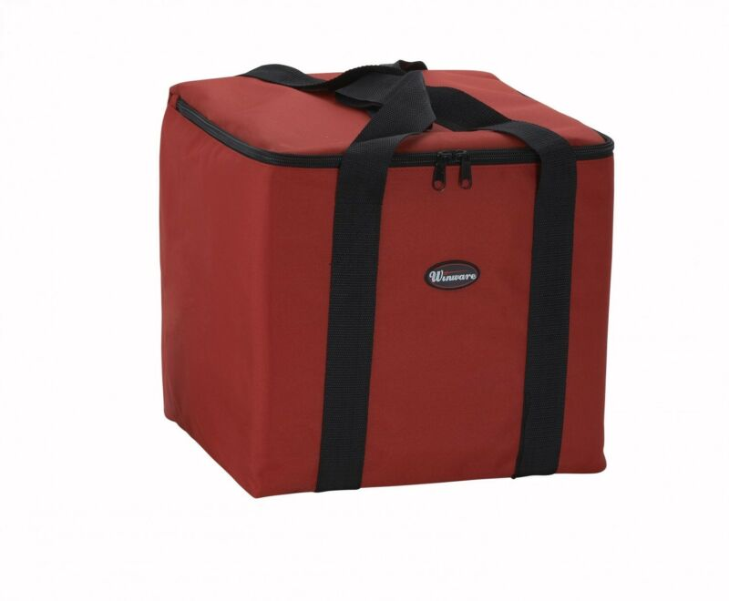 "NEW Insulated Thermal Pizza Food Pizza Delivery Bag, 12"" x 12"" x 12"""