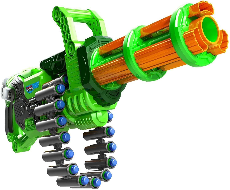 Big Nerf Gatling Machine Gun Motorized Automatic Belt Blaste