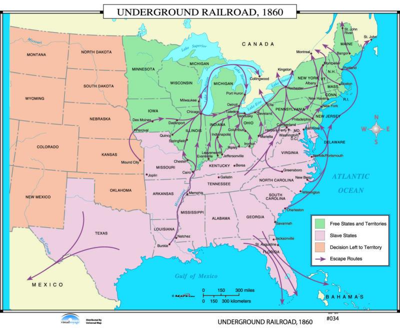 034 Underground Railroad, 1860