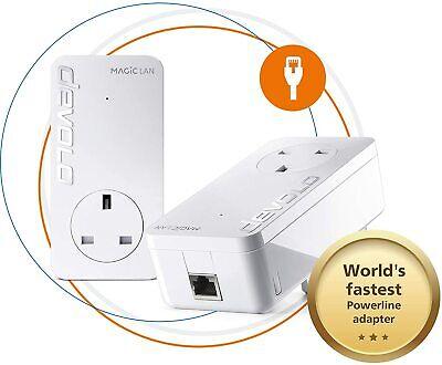 Devolo Magic 2-2400 LAN Starter Kit: Stable Home Working, Powerline Starter Kit