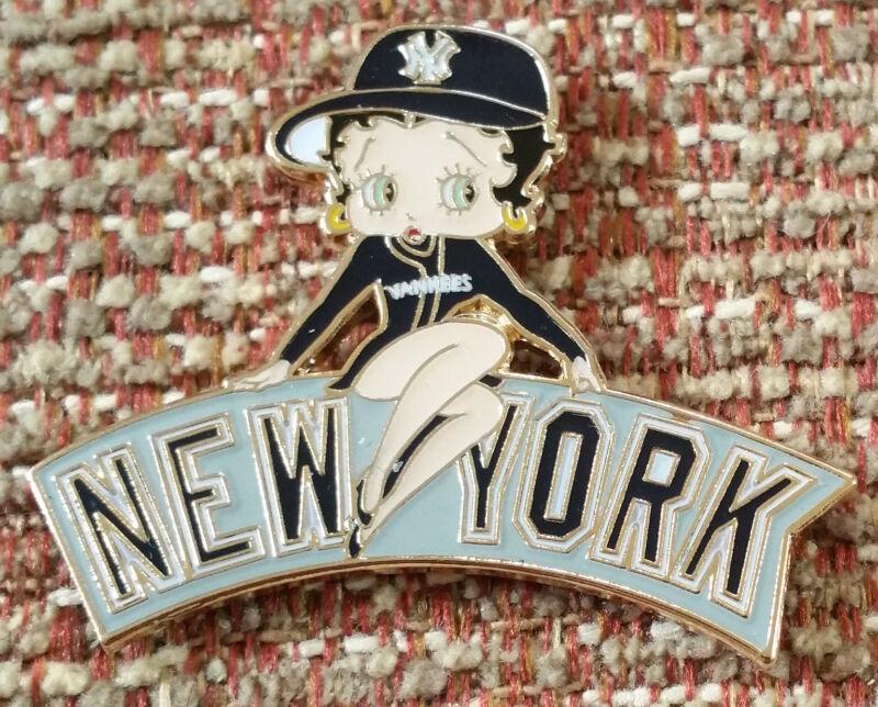NEW YORK YANKEES BETTY BOOP Lapel Pin