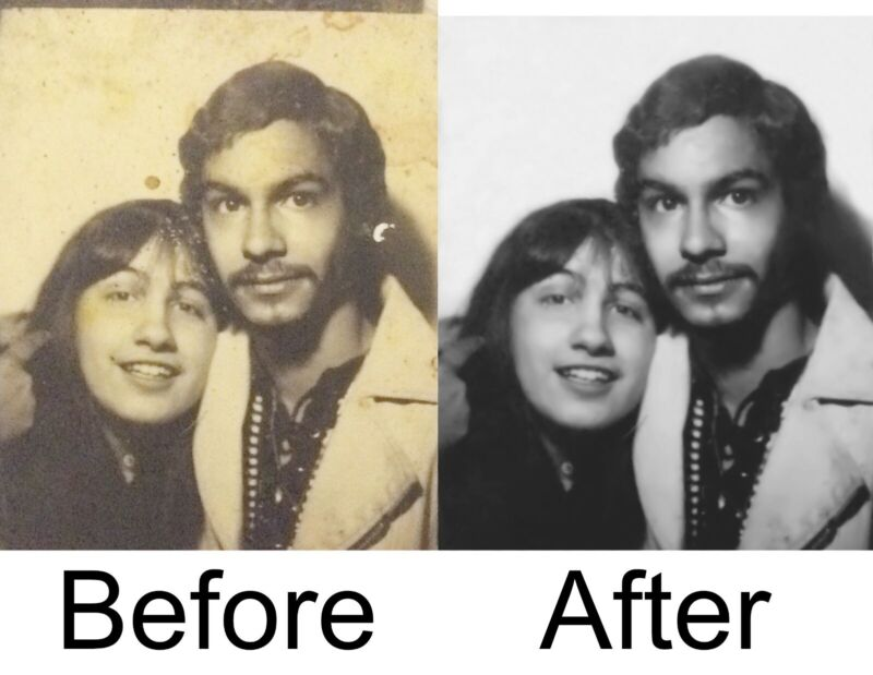 Affordable Photo Restoration Services from Home. See Results before you pay!