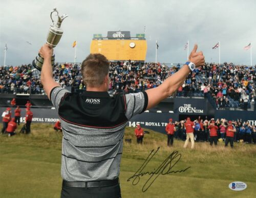 HENRIK STENSON AUTOGRAPHED SIGNED 11X14 PHOTO PICTURE GOLF MASTERS BECKETT BAS