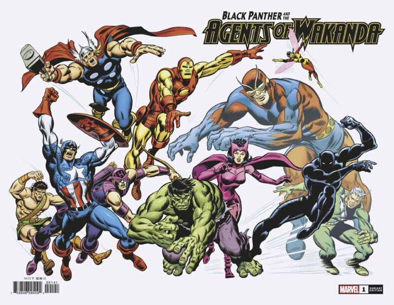 History of Marvel Universe #1 1:100 Buscema Hidden Gem Variant