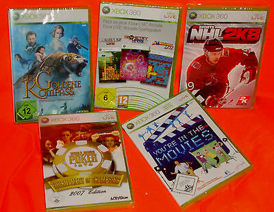 Sammlung Xbox 360 Goldene Kompass Eishockey Poker Arcade-spielepaket You´re In T