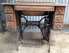 Old Singer treadle sewing machine - iron base Mittagong Bowral Area Preview