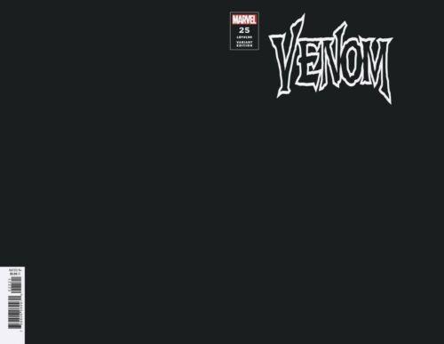 VENOM 25 2020 BLACK BLANK FOR SKETCH VARIANT NM 1st VIRUS
