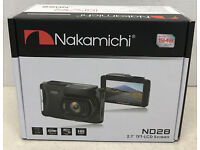CHROME FRAME FOR NAKAMICHI NA1850 NA 1850 NIGHT VISION COLOR REAR VIEW CAMERA