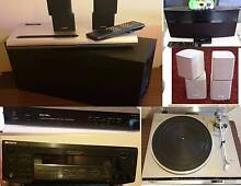 Bose ,B & W ,Rotel,Sansui, Speaker,Amplifiers,Doking station South Yarra Stonnington Area Preview