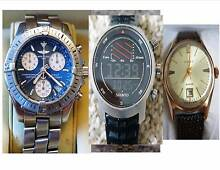 Price reduced !!! BREITLING, SUUNTO SAILING  & GOLD Watches South Yarra Stonnington Area Preview