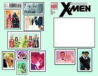 Marvel Comic Create Your Own Superhero (Astonishing X-Men #51 Create Your Own Wedding Variant Marvel Comics Unread)