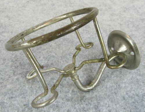 Vintage Metal Bathroom Hardware Decor Wall Cup Glass Toothbrush Brush Holder