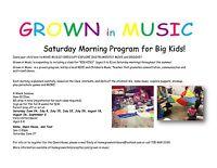 Saturday Music Classes
