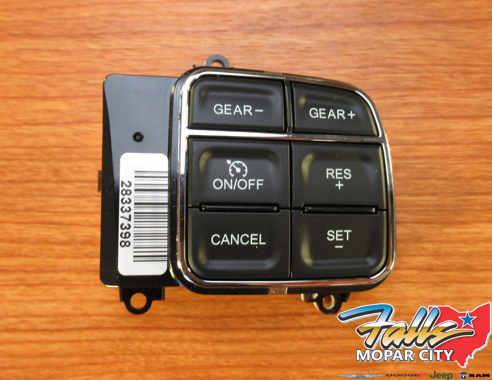 Jeep Wrangler Dodge Ram Chrysler Cruise Control Switch Mopar OEM