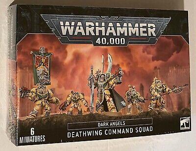 GW Games Workshop 40K Dark Angels DEATHWING COMMAND SQUAD indomitus Knights VHTF