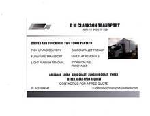 D M CLARKSON TRANSPORT Beenleigh Logan Area Preview