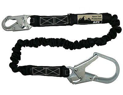 Afp New Fall Protection Safety Lanyard 6 Internal Shock-absorbing Rebar Hook