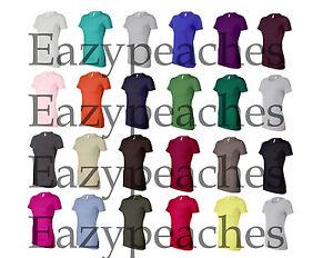 Bella-NEW-Ladies-Favorite-Tee-Cotton-Longer-T-Shirt-Top-Womens-Size-S-2XL-6004