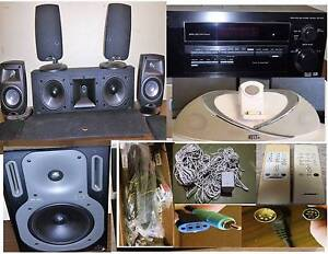 Rotel,Bose , Klipsch,B&W, Pioneer,Speakers,Amplifiers