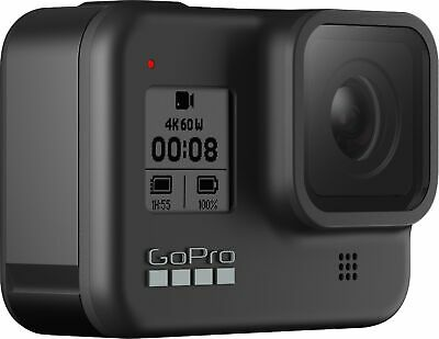 GoPro HERO 8 Black 4K Action Camera Plus **Deluxe Mega Kit A