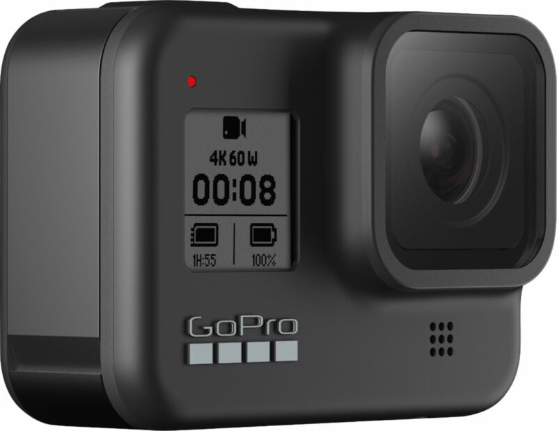 GoPro - HERO8 4K Waterproof Action Camera - Black