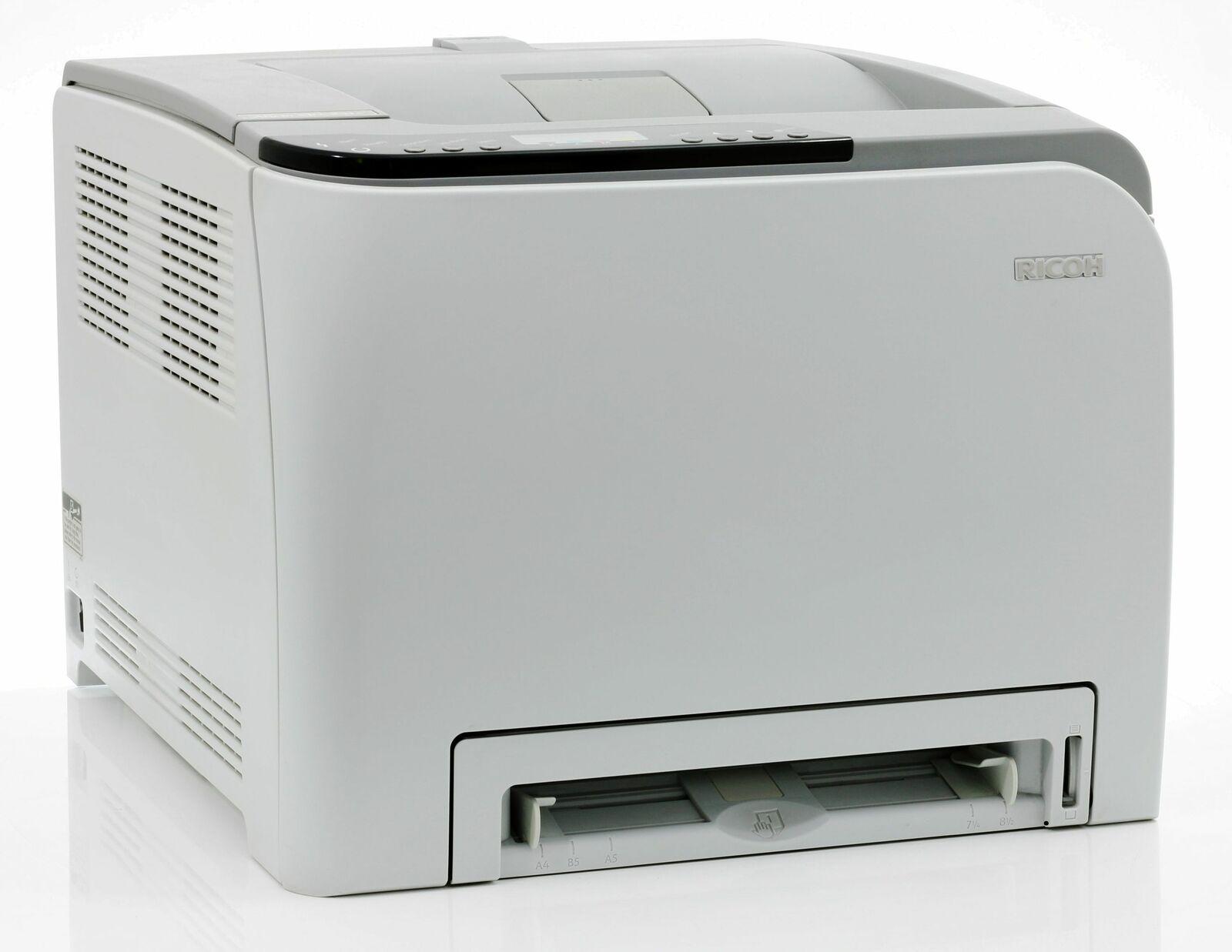 Ricoh aficio sp c231n imprimante couleur réseau laser sous 45.000 pages