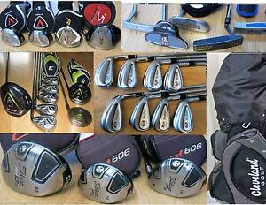 Mens ,Ladies R & L.H PING ,Calllaway Irons, Putters & Clubs.,. South Yarra Stonnington Area Preview
