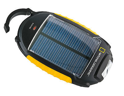 CARICABATTERIE SOLARE PER TELEFONO CELLULARE NATIONAL GEOGRAPHIC CHARGER 4 IN 1