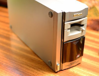 NIKON COOLSCAN 4000 ED Film Scanner MINT  w/ MA-20  JUST SERVICED  + WARRANTY