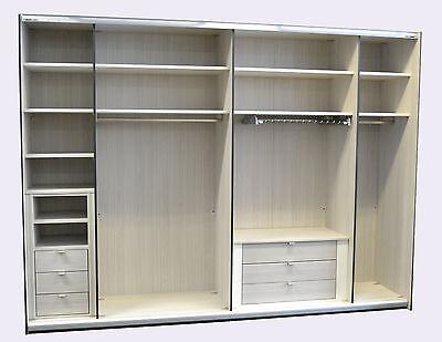 Einlegeboden grau gestreift   Einlegeböden   Steffen Möbel   976mm